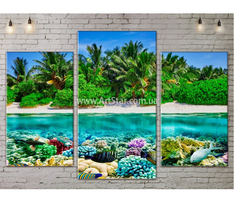 Модульные Картины, Морской пейзаж, Art. SEAA777031