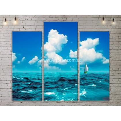 Модульные Картины, Морской пейзаж, Art. SEAA777039