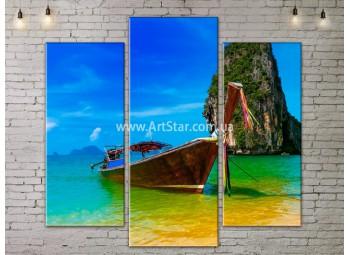 Модульные Картины, Морской пейзаж, Art. SEAA777045