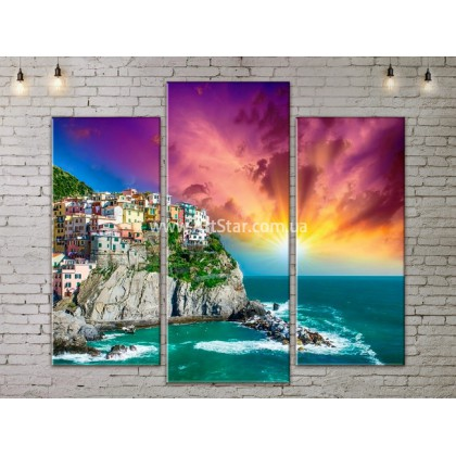 Модульные Картины, Морской пейзаж, Art. SEAA777047
