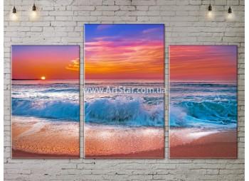 Модульные Картины, Морской пейзаж, Art. SEAA777051