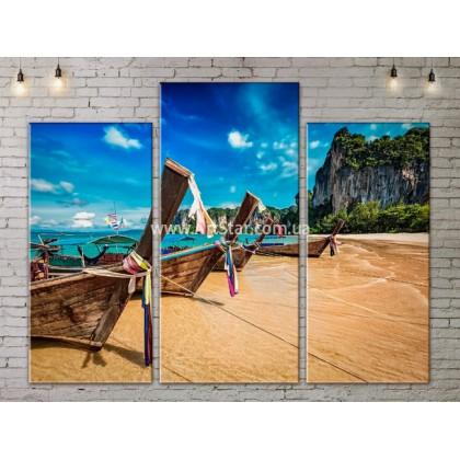 Модульные Картины, Морской пейзаж, Art. SEAA777053