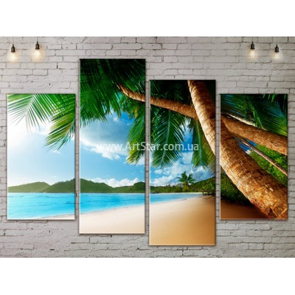 Модульные Картины, Морской пейзаж, Art. SEAA777061