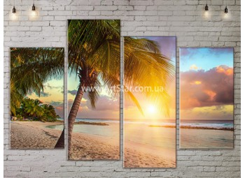 Модульные Картины, Морской пейзаж, Art. SEAA777069