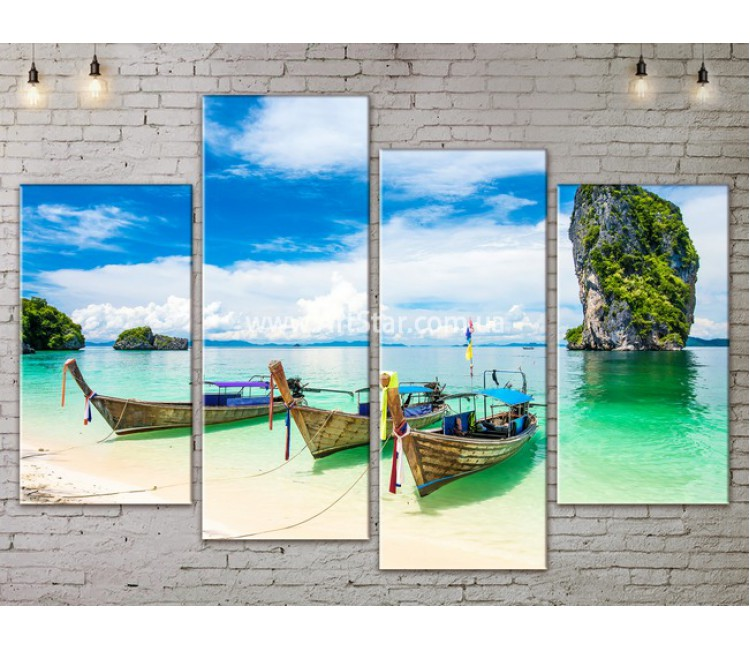 Модульные Картины, Морской пейзаж, Art. SEAA777073