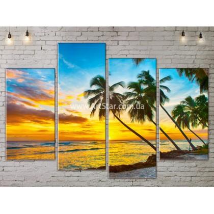 Модульные Картины, Морской пейзаж, Art. SEAA777077