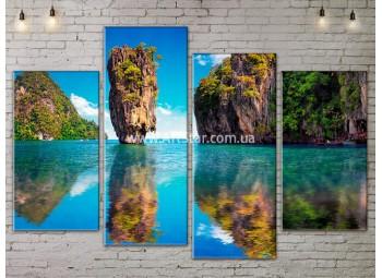 Модульные Картины, Морской пейзаж, Art. SEAA777085