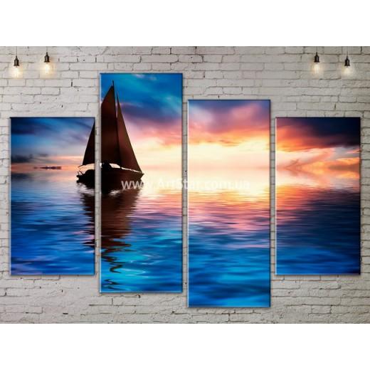 Модульные Картины, Морской пейзаж, Art. SEAA777091