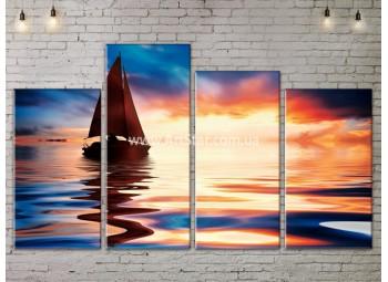 Модульные Картины, Морской пейзаж, Art. SEAA777095