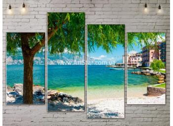Модульные Картины, Морской пейзаж, Art. SEAA777097