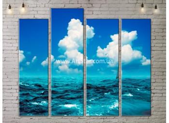 Модульные Картины, Морской пейзаж, Art. SEAA777103