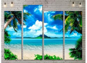 Модульные Картины, Морской пейзаж, Art. SEAA777105