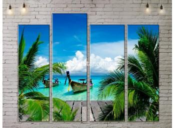 Модульные Картины, Морской пейзаж, Art. SEAA777107