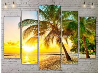 Модульные Картины, Морской пейзаж, Art. SEAA777131