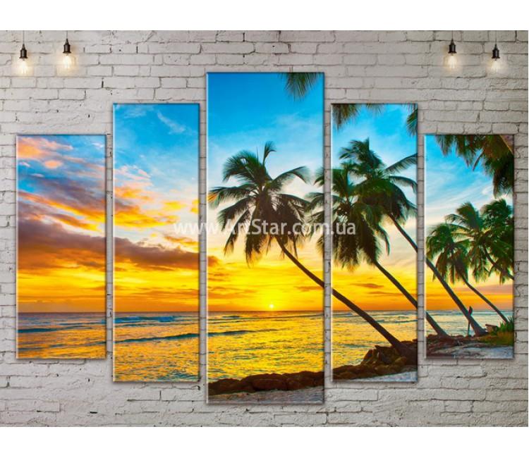 Модульные Картины, Морской пейзаж, Art. SEAA777137
