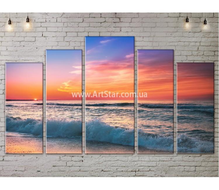 Модульные Картины, Морской пейзаж, Art. SEAA777139