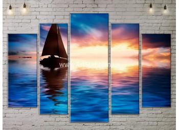 Модульные Картины, Морской пейзаж, Art. SEAA777151