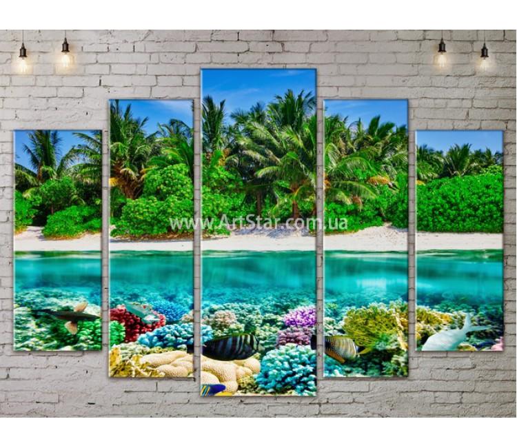 Модульные Картины, Морской пейзаж, Art. SEAA777153
