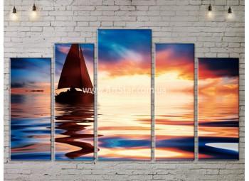 Модульные Картины, Морской пейзаж, Art. SEAA777155