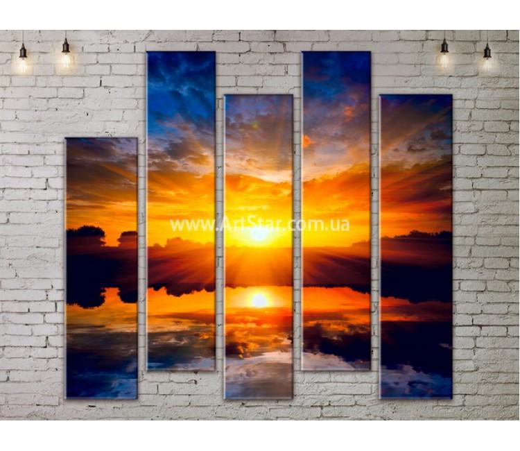 Модульные Картины, Морской пейзаж, Art. SEAA777161