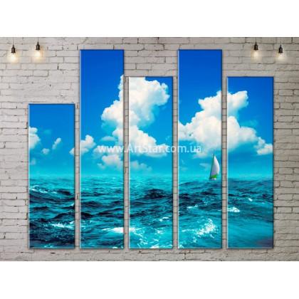 Модульные Картины, Морской пейзаж, Art. SEAA777163