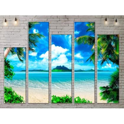 Модульные Картины, Морской пейзаж, Art. SEAA777165