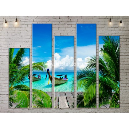 Модульные Картины, Морской пейзаж, Art. SEAA777167