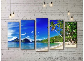 Модульные картины купить, Art. SEAM0005