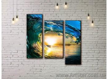 Модульные картины купить, Art. SEAM0007