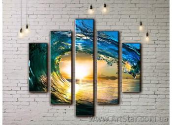 Модульные картины купить, Art. SEAM0011