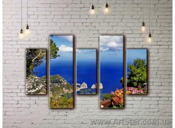 Модульные картины купить, Art. SEAM0071