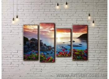 Модульные картины купить, Art. SEAM0093