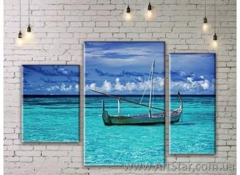 Модульные картины купить, Art. SEAM0133
