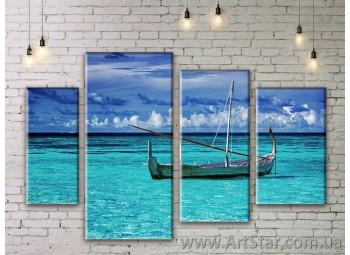 Модульные картины купить, Art. SEAM0135