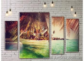 Модульные картины купить, Art. SEAM0147