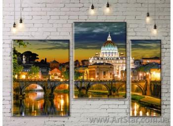 Модульные картины купить, Art. SEAM0151