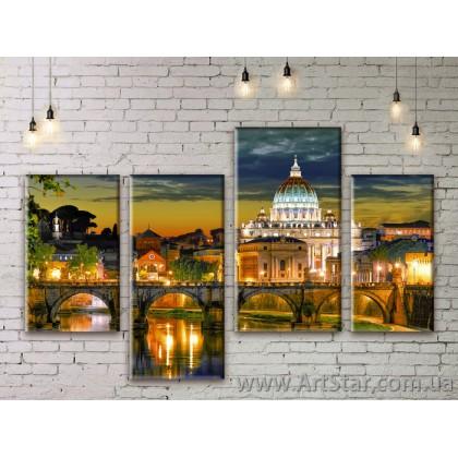 Модульные картины купить, Art. SEAM0153