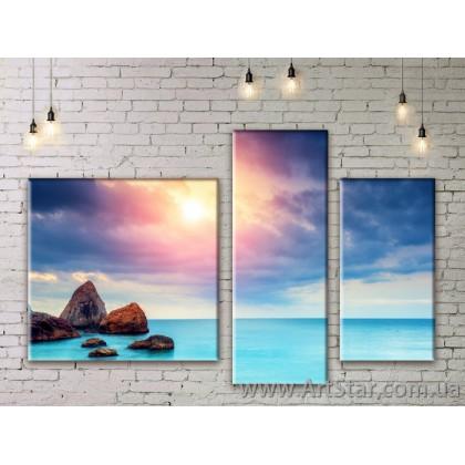 Модульные картины купить, Art. SEAM0157