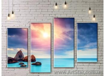 Модульные картины купить, Art. SEAM0159