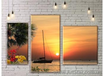 Модульные картины купить, Art. SEAM0241