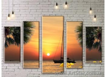 Модульные картины купить, Art. SEAM0257