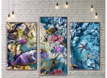 Модульные картины купить, Art. SEAM0259