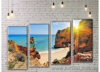 Модульные картины купить, Art. SEAM0273