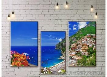 Модульные картины купить, Art. SEAM0277
