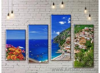 Модульные картины купить, Art. SEAM0279