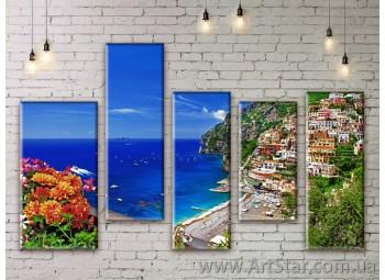 Модульные картины купить, Art. SEAM0281