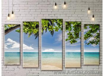 Модульные картины купить, Art. SEAM0287
