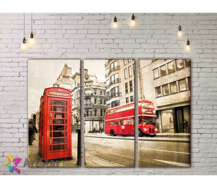 Модульные Картины, Город, Art. SYY778122