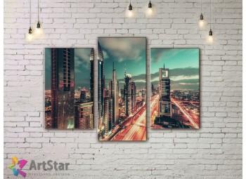 Модульные Картины, Город, Art. SYY778138