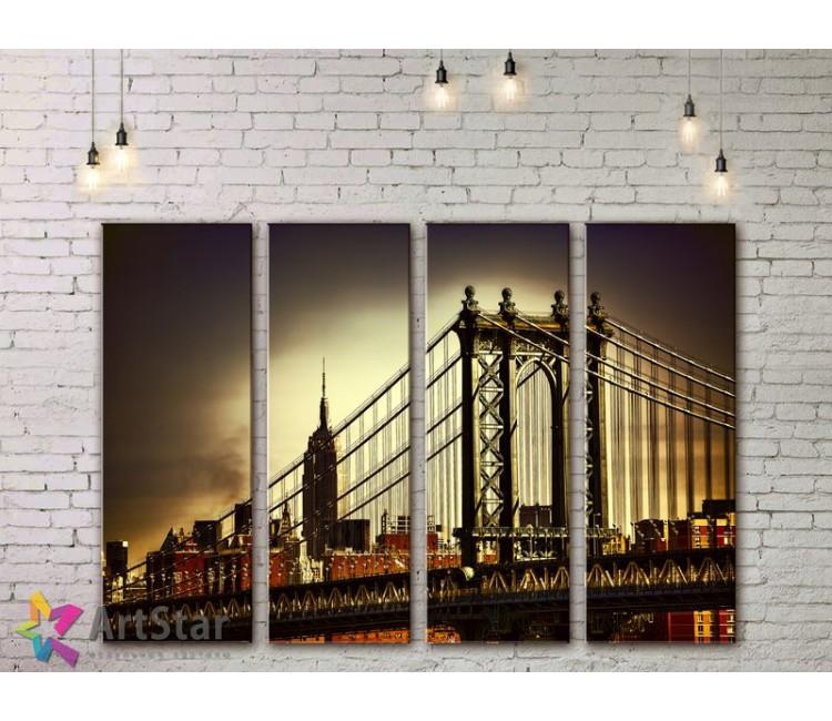 Модульные Картины, Город, Art. SYY778072